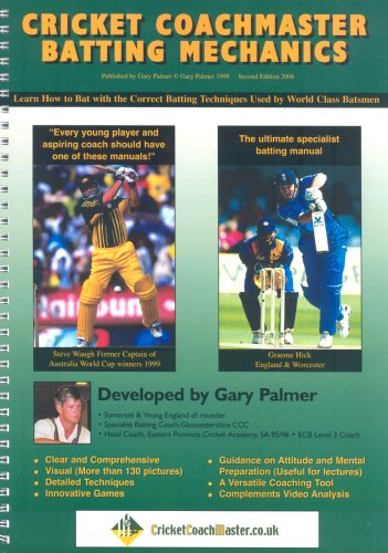 Cricket Coachmaster: Batting Mechanics por Gary Palmer