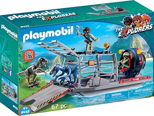 Playmobil-9433 Hidro Deslizador con Jaula
