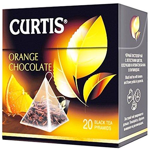 Curtis schwarzer Tee Orange Chocolate 20 Pyramidenbeutel Pyramid Tea Schwarztee
