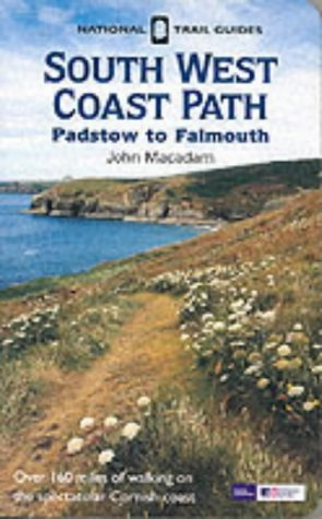 Southwest Coastal Path - Padstow, Falmouth (National Trail Guide) by Brian Le Mesurier (2002-04-02)