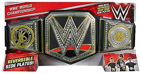 WWE World Heavyweight Championship Belt Version Anglaise