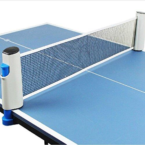 CanVivi Tischtennis Netzgarnitur Tischtennis Netz ausziehbar
