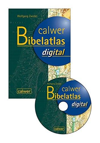 Calwer Bibelatlas digital: CD-ROM Private Nutzung sowie öffentliche nicht gewerbliche Vorführrechte, ohne Verleihrecht