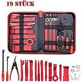 Demontage Werkzeuge Auto,Towinle 19 Stück Zierleistenkeile Verkleidungs Reparatur Werkzeuge Tür Innenraum Zierleisten Verkleidung Lösehebel Tool