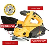 Wolf 900 Watt 3 Bladed Rebate Planer - Best Reviews Guide