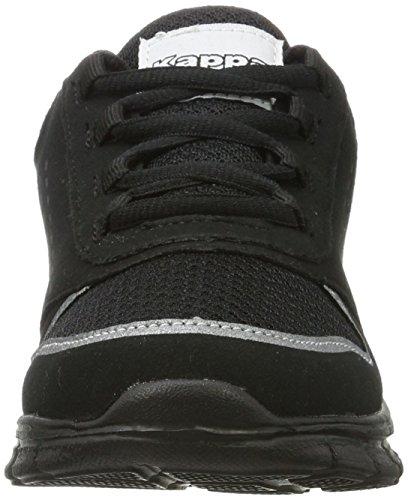 Kappa Amora, Sneakers Basses Mixte Adulte, 1111 Black/Black Noir (1111 Black)