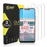 CRXOOX 3 Stück Panzerglasfolie für Huawei Mate 20 Lite Panzerglas Schutzfolie Anti Kratzen Ohne Bläschen Bildschirmschutzfolie Blasenfrei Einfache Montage für Huawei Mate 20 Lite Transparent