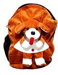 Art-N-Soul Dog Soft Cartoon Toy Cute Kids Plush Backpack/ Birthday Return Gift/ School Bag/ Travelling Carry Picnic...