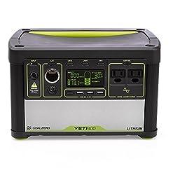Goal Zero YETI 400 gruppo di continuità (UPS) Standby (Offline) 12 W 2 presa(e) AC