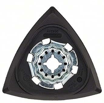 Bosch 2 609 256 956 Piastra di Levigatura Delta Utensile Multifunzione 93 mm