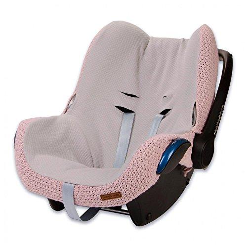 Baby's Only 165521 Bezug für Babyschale 0+ Robust Alt Rosa