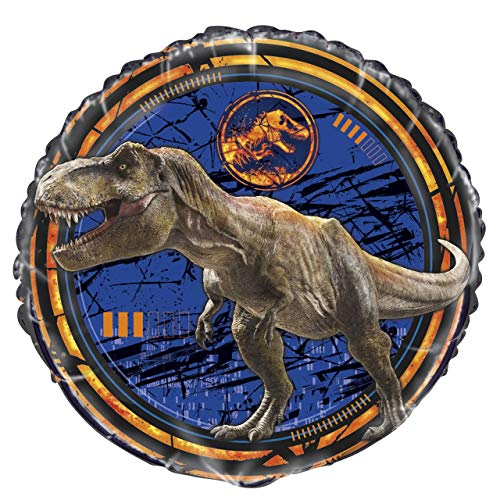 Unique Jurassic World Birthday Party Foil Balloon [18 Inches]