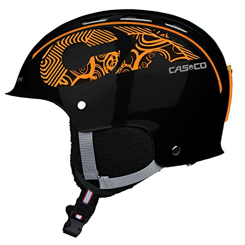 CASCO CX-3 ICECUBE Skihelm schwarz/orange S 50-56cm