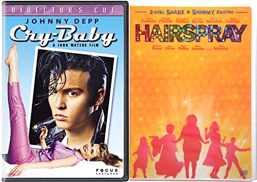 Cry Baby + Hairspray Musical DVD Set Special Edition Bonus Videos Shimmy Shake
