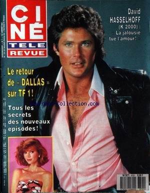 CINE TELE REVUE [No 1] du 01/01/1987 - DAVID HASELHOFF - K 2000 - LE RETOUR DE DALLAS - TOUS LES SECRETS DES NOUVEAUX EPISODES