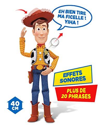 MTW Toys 64071 - Disney Pixar Toy Story - Sprechender Sheriff Woody, Actionfiguren, 12 x 37 x 8 cm - 2