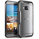 HTC One M9 Gehäuse, SUPCASE Unicorn Beetle Serie Premium-Hybrid Protective Hülle für HTC One M9 (Schwarz/Frost)