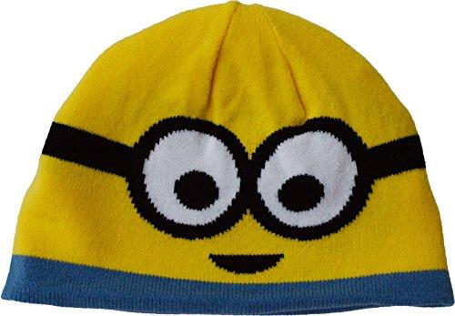 Beanie Winter Hat, Gelb (Minions Beanie)