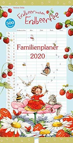 Erdbeerinchen Erdbeerfee. Familienplaner 2020