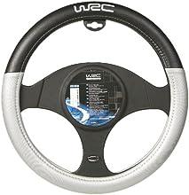 WRC 007381 - Funda bicolor para volante, colo negro y plateado