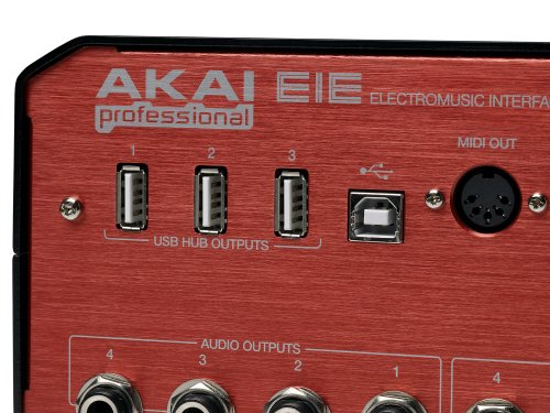 Akai-Eie USB Audio/MIDI Interface Verteiler Eie -