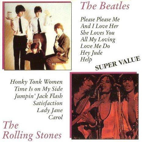 The Beatles Live Hammersmith, Paris, David Frost Show & Bbc '64, Hollywood Bowl '65 / The Rolling Stones Live Altmont Speedway '60, Hyde Park & Oakland Coliseum '69 & Leeds University '71