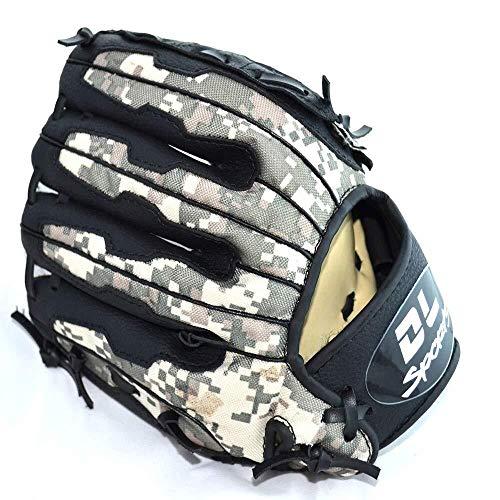 QTDH Baseball Catcher Mitts - Professionelle Baseballhandschuhe - PU Pitcher Softball Handschuhe - Linkshänder Wurf - Erwachsene Jugend Kinder (Size : 9.5 inches) (Catcher Kit Für Erwachsene)