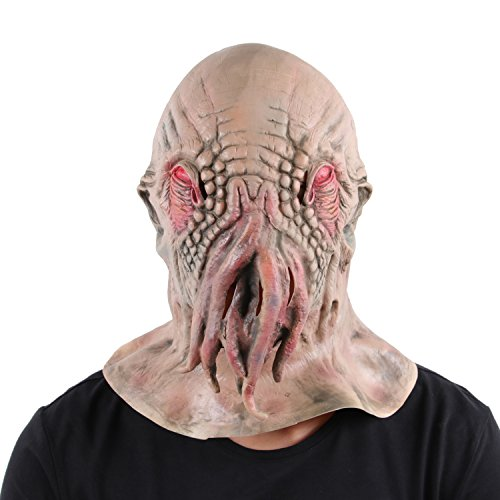 SWEET DEVIL Latex Horror Maske Ideal für Halloween Karneval Halloween Kostüm,One (Tg Kostüm)