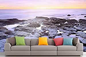 Roshni Arts® - Curated Art Wall Mural - Nature Series - 39 | Self-Adhesive Vinyl Furnishings Décor Wall Art - 48x64 Inch