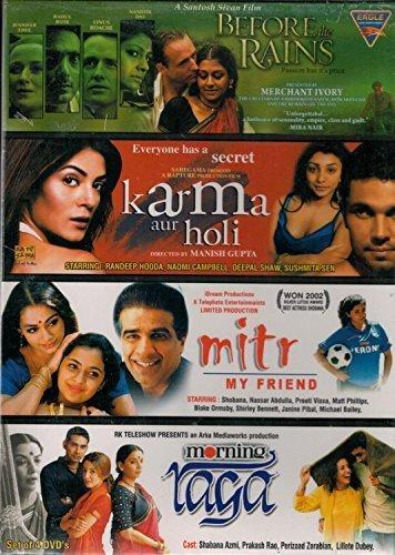 Preisvergleich Produktbild Before the Rains / Karma aur Holi / Mitr My Friend / Morning Raga (4 Dvd Set) by Various