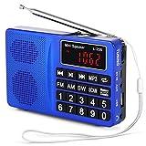 Best Las radios portátiles - Prunus Radio portatile SW/FM / Am(MW)/ SD/TF/USB(0-64 GB) Review