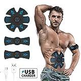 GHXX Electroestimulador Muscular Abdominales Masajeador Eléctrico Cinturón EMS Electro Estimuladores Musculares para Un Cuerpo Tonificado para Hombre o Mujerzoci