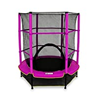 We R Sports® Kids Junior Trampolines With Safety Net Enclosure Surround 55 Inch