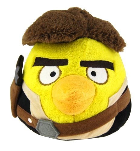 "Angry Birds - Star Wars - Han Salo Plush - 13cm 5"""