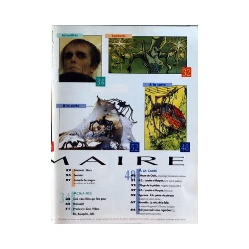 DRAGON MAGAZINE N? 20 du 01-11-1994 HEROIC FANTASY - SCIENCE FICTION - FANTASTIQUE - ENCYCLOPEDIE DES MONDES IMAGINAIRES LORETTE ET HARPYE - L'ELOGE DE LA PHOBI