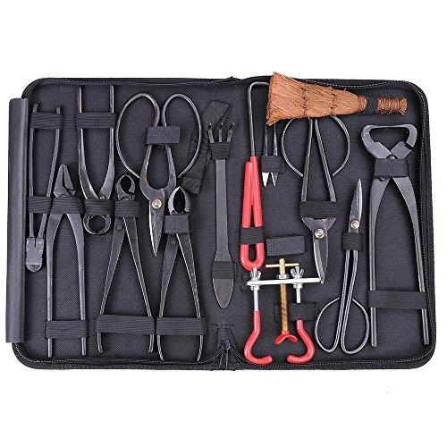Preisvergleich Produktbild Generic Ki Extensive Kit Werkzeug Se Carbon Steel t C Cutter Schere Schere Bonsai-Werkzeugset lon Etui Nylon Tasche