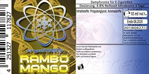 Cryostasis Aroma Rambo Mango 10ml