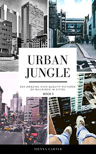 Urban Jungle. 500 Amazing High Quality Pictures of Buildings in Cities (English Edition)