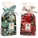 DECO ARO Mystic Island/Tuberose Aroma Potpourri in Poly Bag-Pack of 2