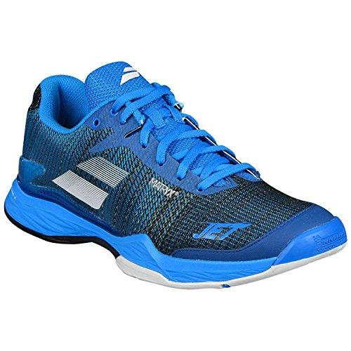 Babolat Chaussures de Tennis Jet Mach II All Court pour Hommes, Bleu, 44.5