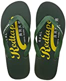 Red Tape Men's Green and Yellow Flip-Flops and House Slippers - 10 UK/India (44 EU)