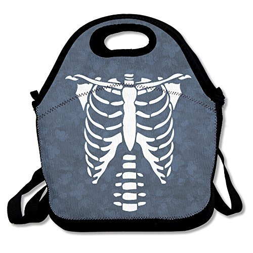 Pinypony Halloween Skelett Glow in The Dark Lunch Bag Lunch Tote