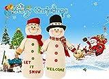 Igemy Pädagogisches Puppen Weihnachtsschneemann Plüschspielzeug (A) Test