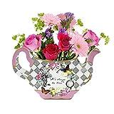 Talking Tables Truly Alice in Wonderland; Tischdekoration (Teekanne als Blumenvase) für Teekränzchen, Hochzeiten und G