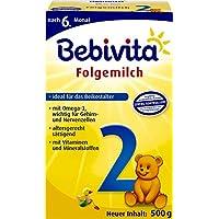 Bebivita 2 Folgemilch, 4er Pack (4 x 500 g Packung)