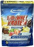 IronMaxx 100% Whey Protein – Whey Proteinpulver Schokolade auf Wasserbasis – Eiweißpulver für Eiweißshake mit Milchschokoladen Geschmack – 1 x 500 g Beutel