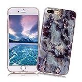 Coque iPhone 7 PLUS XiaoXiMi Etui en Marbre Texture Housse de Protection Soft TPU...