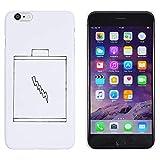Azeeda Weiß 'Batterie' Hülle für iPhone 6 Plus & 6s Plus (MC00128910)