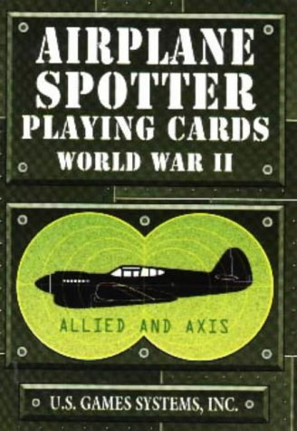 Airplane Spotter World War II Card Game