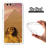 Becool® - Cover Gel Flexible Huawei Honor 9 , TPU Case made out of the best Silicone, protects and adapts flawlessly to your Smartphone, together with our exclusive designs. Egyptian pyramid.